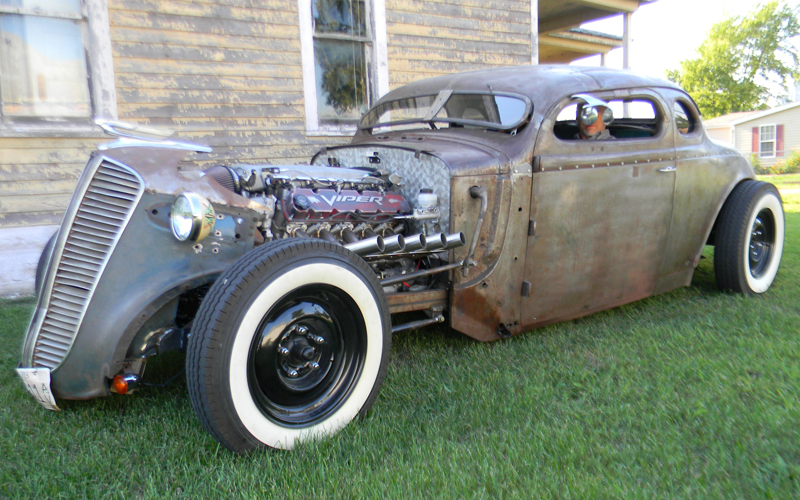 Dodge Viper For Sale >> 1937 Dodge Rat Rod with Viper V10 - Auto Restoration Shop, Waltonville IL