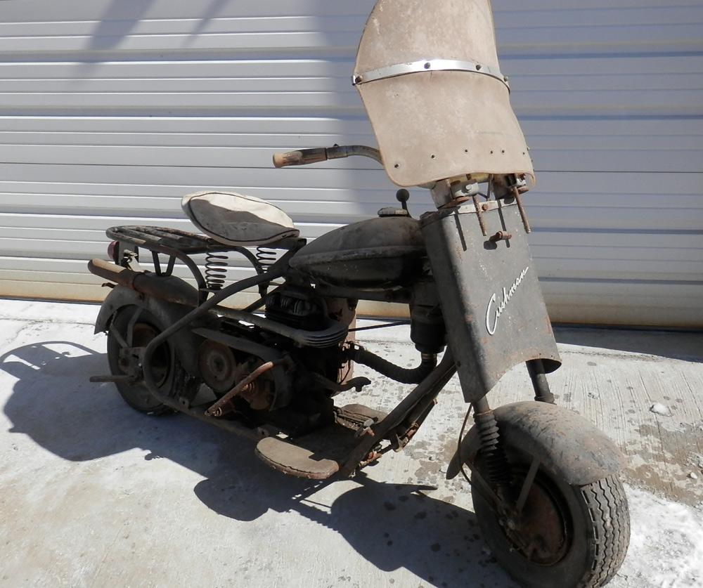 1956 Cushman Eagle Scooter Auto Restoration Shop