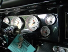 Nova Dash w/ ididit Column, Carbon Fiber Panel, AutoMeter Gauges, Vintage Air A/C