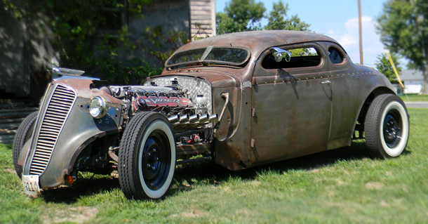 1937 Dodge Rat Rod With Viper V10 Auto Restoration Shop