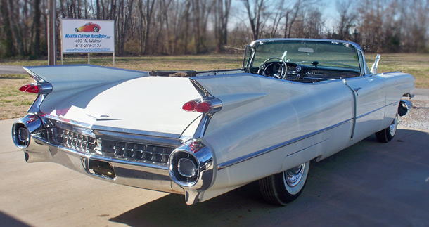 1959 Cadillac Convertible Series 62 - Auto Restoration Shop ...