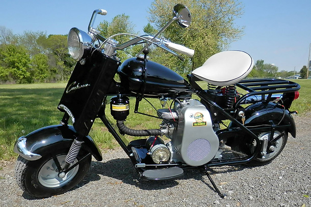 1956 Cushman Eagle Scooter